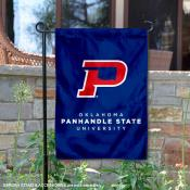Oklahoma Panhandle State University Double Sided Garden Flag