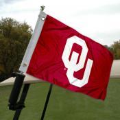 Oklahoma Sooners Golf Cart Flag
