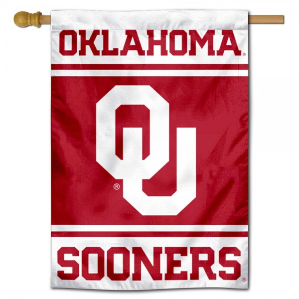 Oklahoma Sooners House Flag