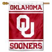 Oklahoma Sooners House Flag