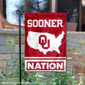 Oklahoma Sooners Nation Garden Flag