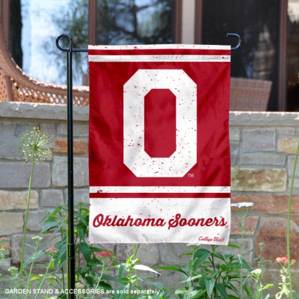 Oklahoma Sooners Retro Throwback Garden Banner