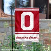 Oklahoma Sooners Retro Throwback Garden Banner