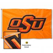 Oklahoma State Cowboys Appliqued Sewn Nylon Flag