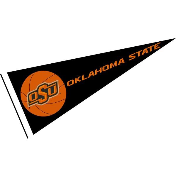 Oklahoma State Cowboys Basketball Pennant
