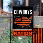 Oklahoma State Cowboys Nation Garden Flag