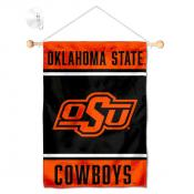 Oklahoma State Cowboys Window Hanging Banner with Suction Cup