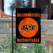 Oklahoma State University Basketball Garden Flag