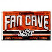 Oklahoma State University Cowboys Man Cave Dorm Room 3x5 Banner Flag