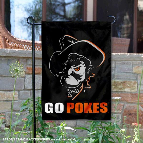 Oklahoma State University Double Sided Garden Flag