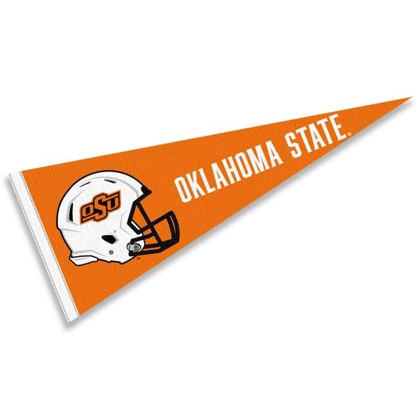 Oklahoma State University Football Helmet Pennant