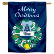 Old Dominion Monarchs Christmas Holiday House Flag