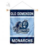 Old Dominion Monarchs Window Hanging Banner with Suction Cup