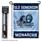 Old Dominion University Garden Flag and Yard Pole Holder Set