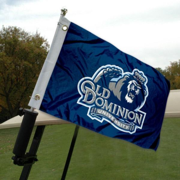 Old Dominion University Golf Cart Flag