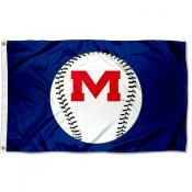 Ole Miss Baseball Flag