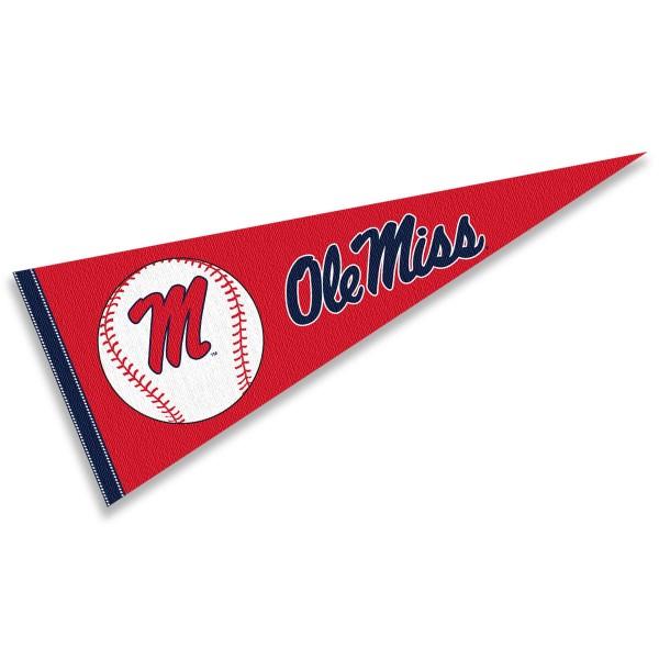 Ole Miss Baseball Pennant
