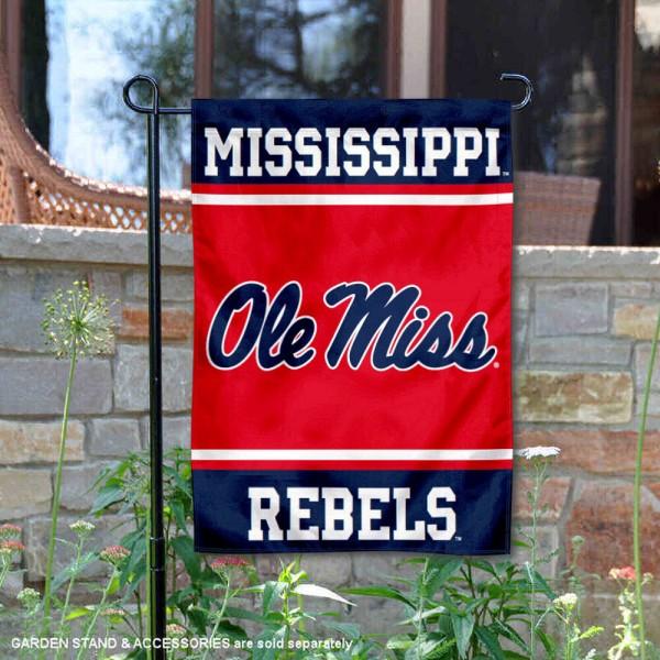 Ole Miss Garden Flag