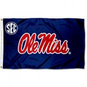 Ole Miss Rebels SEC Flag