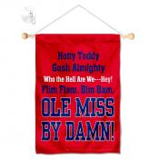 Ole Miss Small Wall and Window Banner