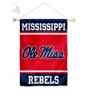 Ole Miss Window Hanging Banner with Suction Cup
