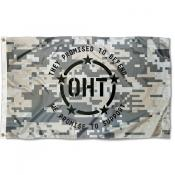 Operation Hat Trick Camo 3x5 Feet Flag