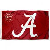 Operation Hat Trick OHT Alabama Crimson Tide Flag