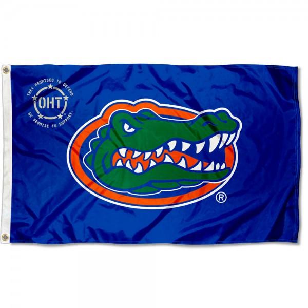 Operation Hat Trick OHT Florida UF Gators Flag