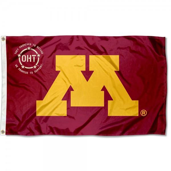 Operation Hat Trick OHT Minnesota Gophers Flag