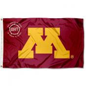 Operation Hat Trick OHT Minnesota Gophers Flag