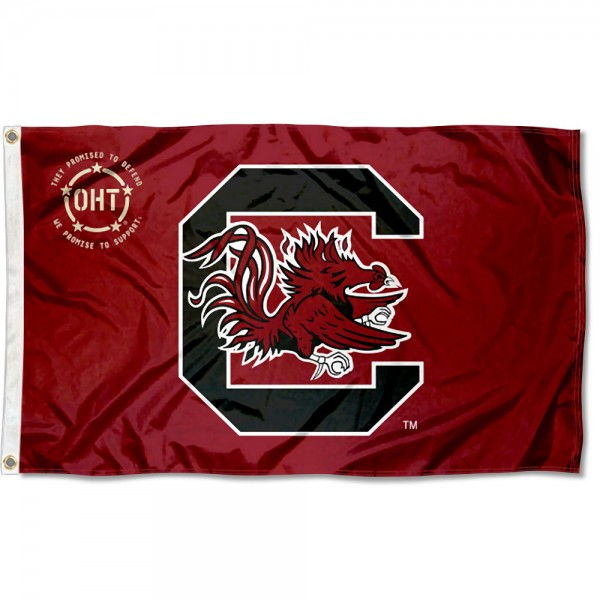 Operation Hat Trick OHT USC Gamecocks Flag