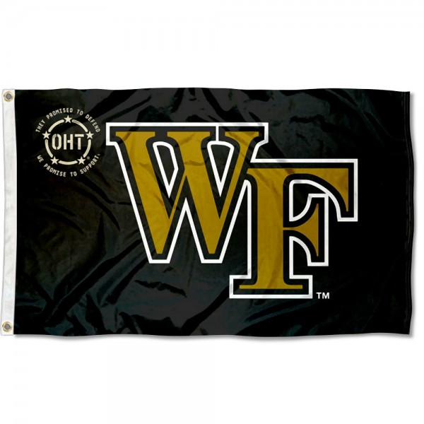 Operation Hat Trick OHT Wake Forest Flag