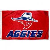 OPSU Aggies No Man Dan Mascot Flag
