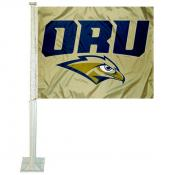 Oral Roberts Eagles Car Flag