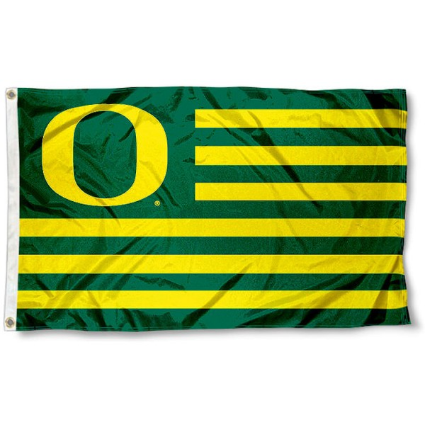 Oregon Duck Nation Flag