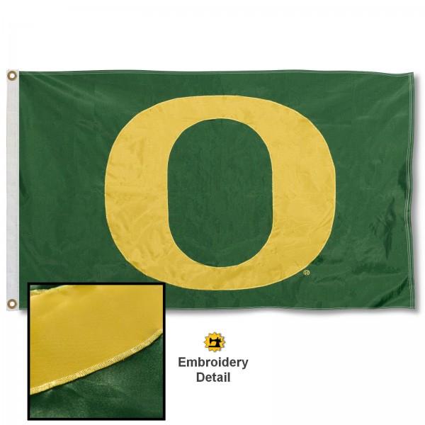 Oregon Ducks Appliqued Nylon Flag