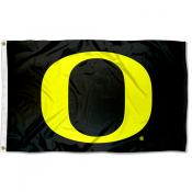 Oregon Ducks Black O Flag