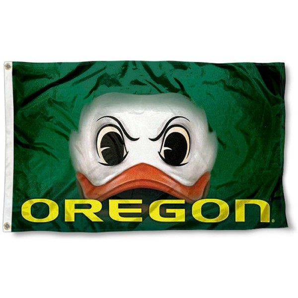 Oregon Ducks Eyes Flag