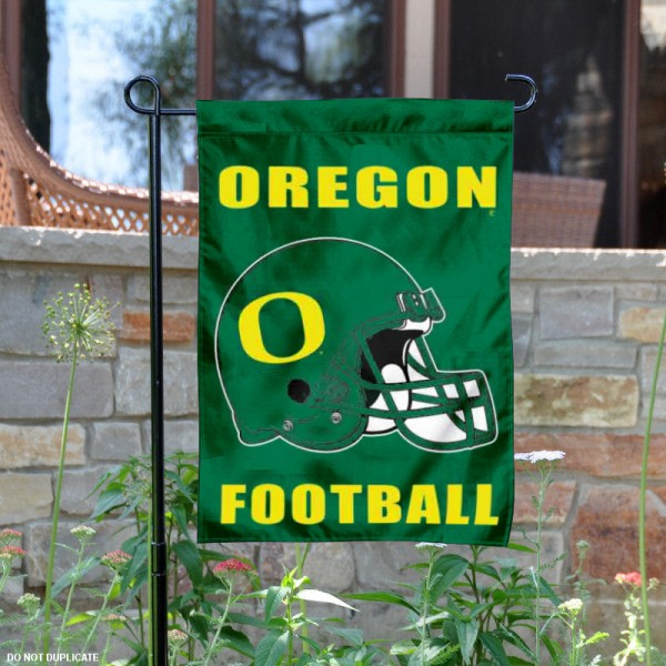 Oregon Ducks Football Garden Flag