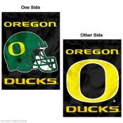 Oregon Ducks Football Helmet House Flag