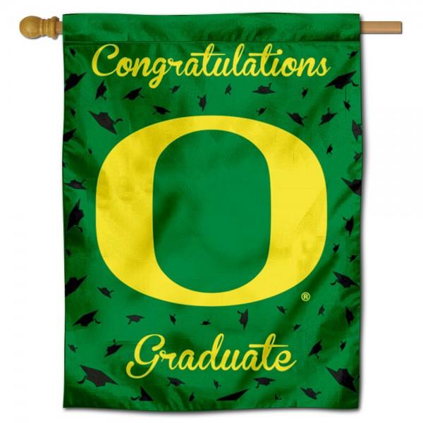 Oregon Ducks Graduation Banner