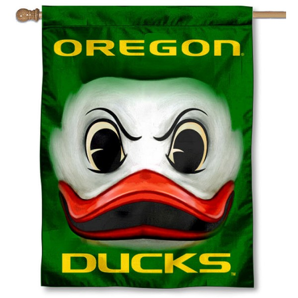 Oregon Ducks Logo House Flag