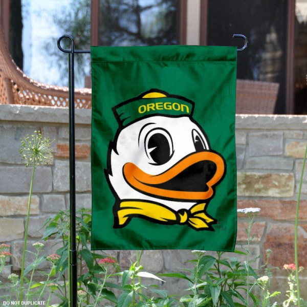 Oregon Ducks Mascot Garden Flag