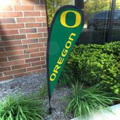 Oregon Ducks Mini Teardrop Garden Flag
