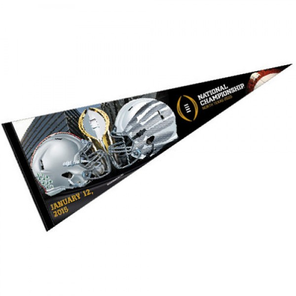Oregon Ducks National Champs Dueling Pennant