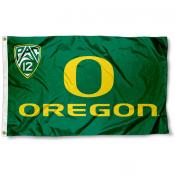 Oregon Ducks Pac 12 Flag