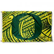 Oregon Ducks Samoan Pattern Flag