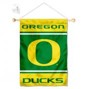 Oregon Ducks Window Hanging Banner with Suction Cup