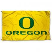 Oregon Ducks Yellow Flag