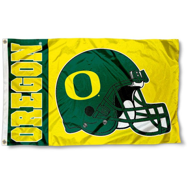 Oregon Football Flag